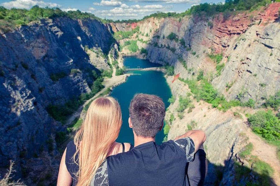 Český Grand Canyon - Velká Amerika