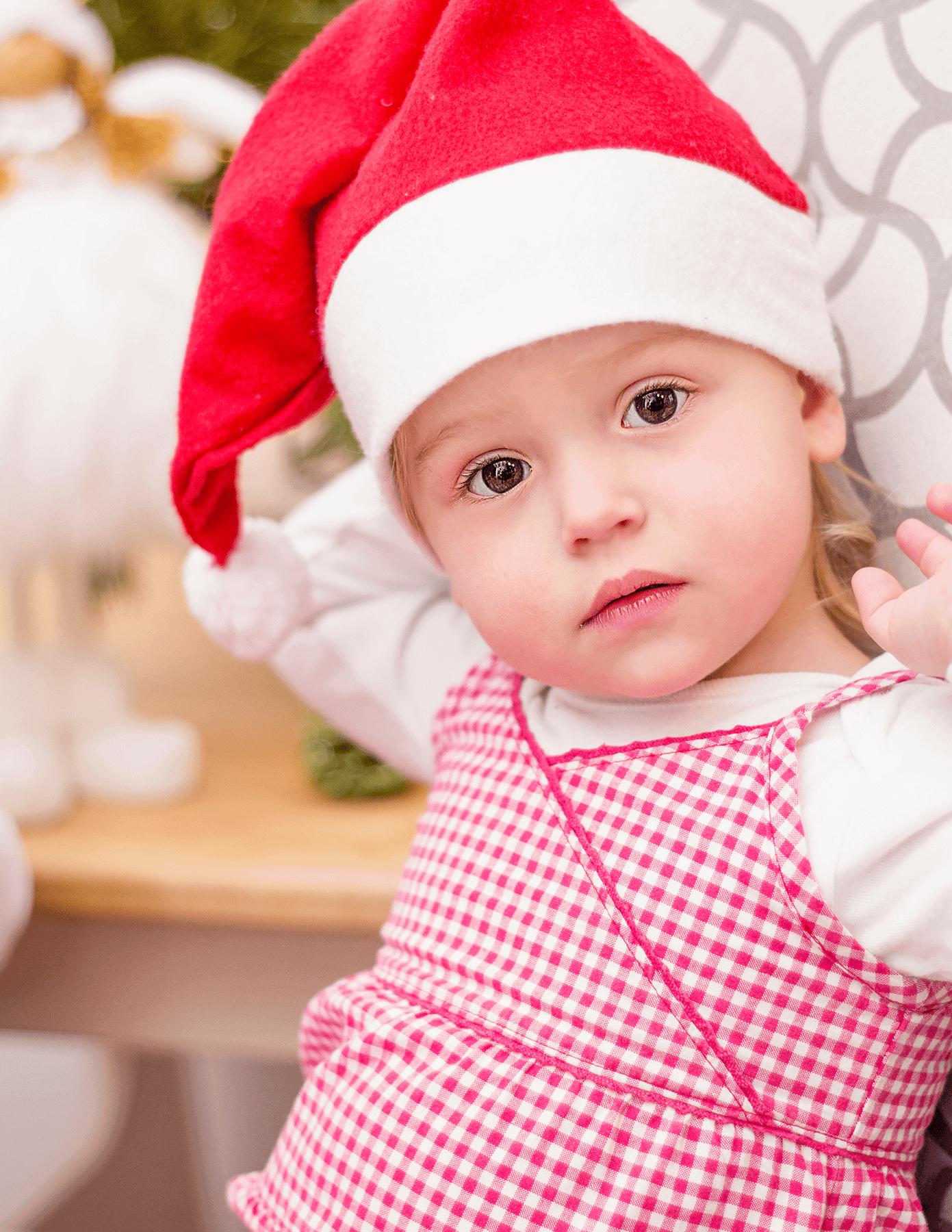 focení vánoce děti
